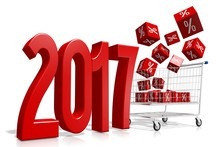 2017 New Year Concept