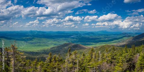 Fényképezés  Panaroma of Adirondack Mountains