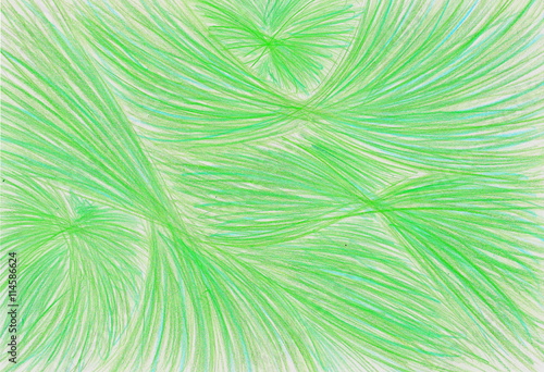 Fototapety, obrazy: pencil background plastic line green