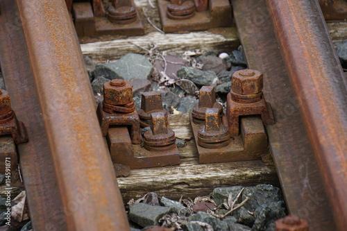 Foto op Plexiglas Artistiek mon. Rusty railway
