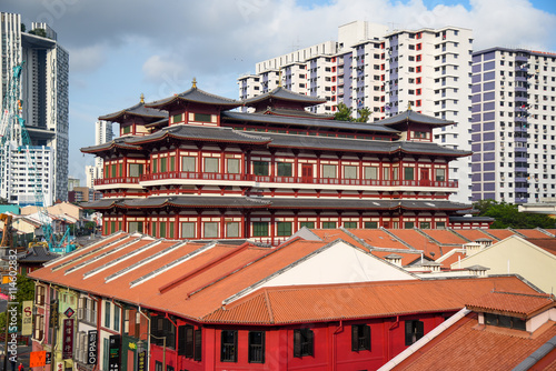 Photo  The Buddha's Relic Tooth Temple, Singapore