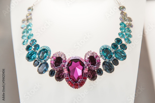 Foto diamond necklace