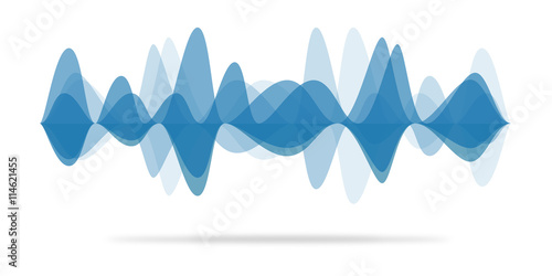 Photo Audio waveform