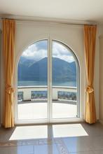 Window Of A Luxury House, Balcony View