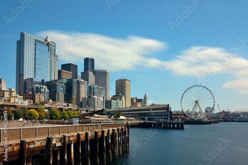 Fotografia, Obraz  Seattle waterfront