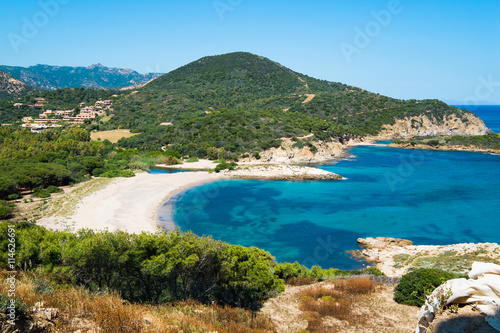 Sardinia beach Canvas Print