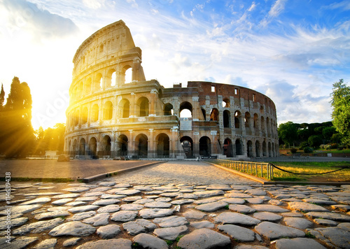 Obrazy na płótnie Canvas Colosseum in Rome
