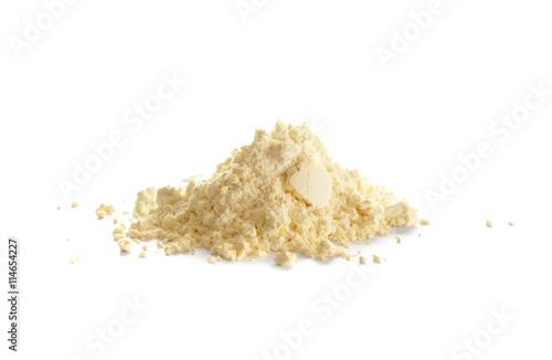 Photo Sulfur, or sulphur, powder