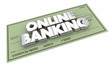 Online Banking Check Money Savings Words 3d Illustration