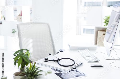 Fotografie, Obraz  Doctor's desk