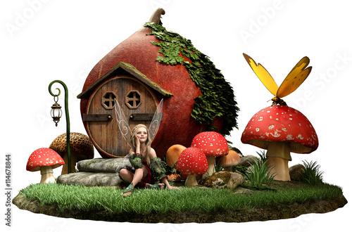 Fotografie, Obraz  Fairy house