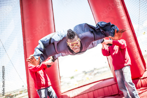 Fotografie, Obraz  Base jump.