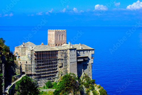 Valokuva  Monastery Dionisiou on Mount Athos, Chalkidiki, Greece