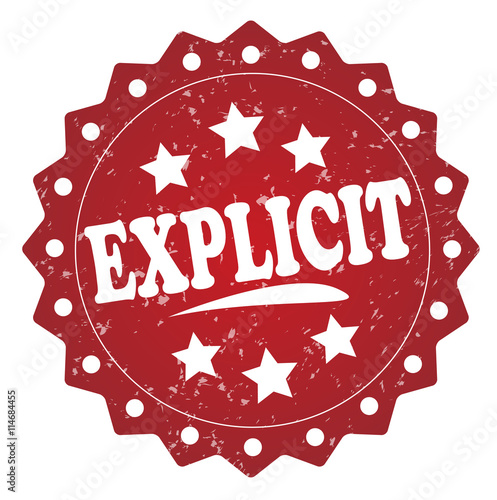Photo  explicit grunge stamp