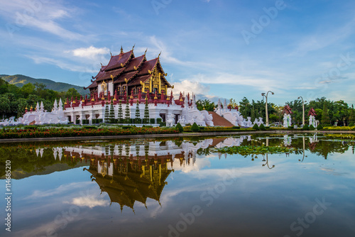 Photo  temple in thailand