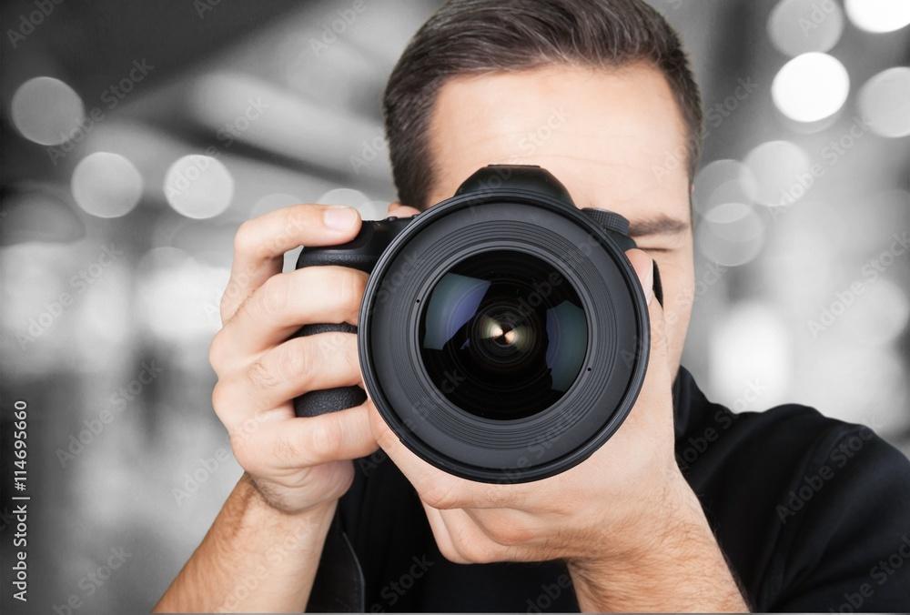 Fototapety, obrazy: Photographer.