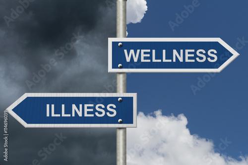 Fotografia  Being Well versus having an Illness