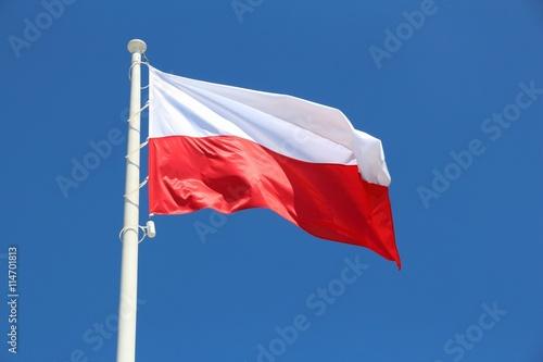 Obrazy na płótnie Canvas Flag of Poland