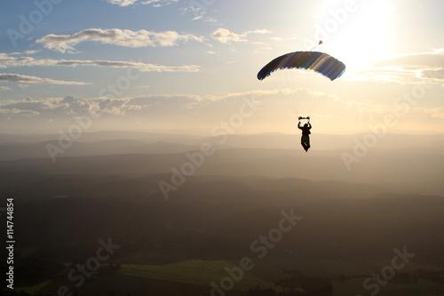 Foto op Canvas Luchtsport Skydiving in Norway