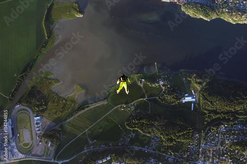 Foto op Aluminium Draken Skydiving in Norway