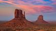 Monument Valley, scenic sunset, Arizona