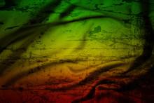Grunge Background Reggae Color...