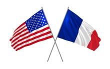 3d Illustration Of USA And Fra...