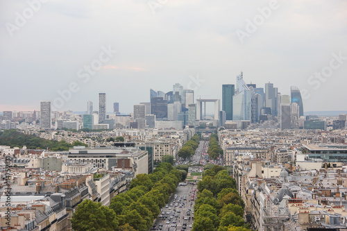Papiers peints Paris Panorama of Paris