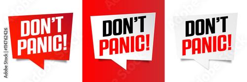 Photo  Don't panic !