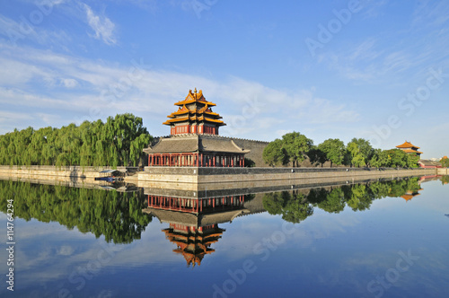 Foto op Aluminium Beijing The Forbidden City in Beijing, China