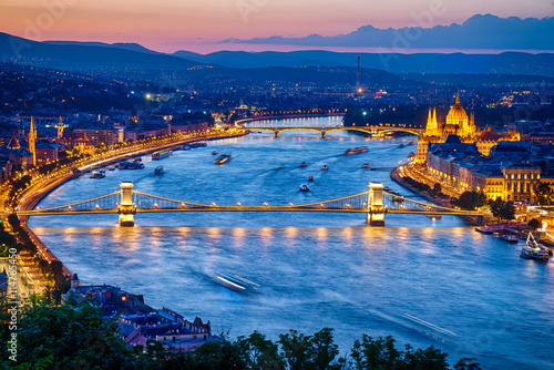 View of Budapest City