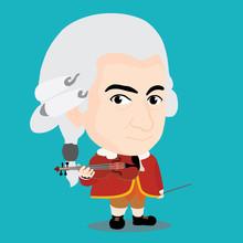 Wolfgang Amadeus Mozart Charac...