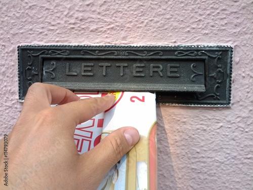 Posta - pubblicità - lettere