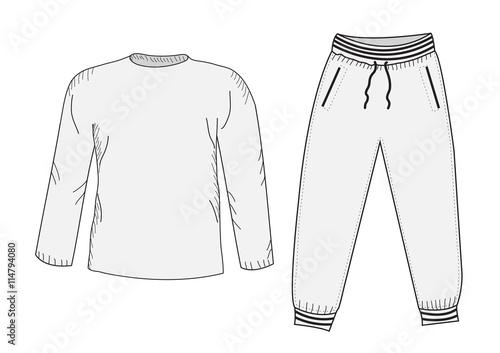 7136e3a8b7a3 Jacket and sweatpants. Tracksuit