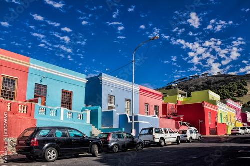 Poster Afrique du Sud Kapstadt, Bo-Kaap-Viertel