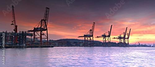 obraz dibond Port Gdynia.