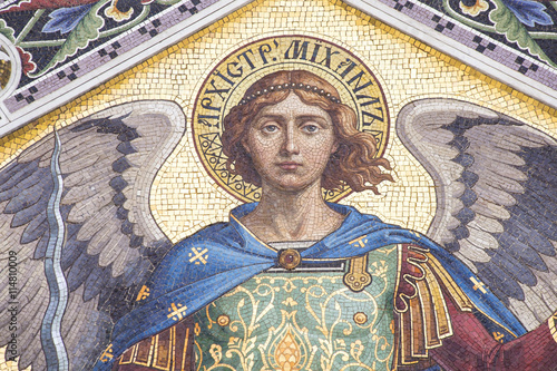 Photo Mosaic of Saint Michael