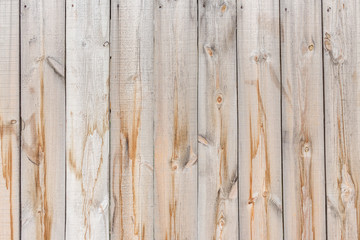 Yellow wood fence as background texture