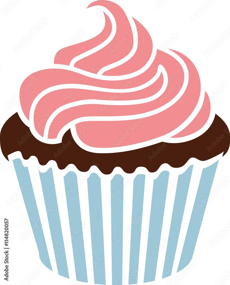 Photo  Cut baby cupcake