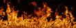 canvas print picture - Flammen