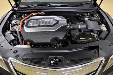 ハイブリッドカーのエンジン