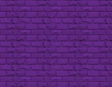 Pattern Of A Purple Stone Wall