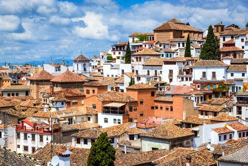 Granada - Albaicin Moorish quarter, Andalusia in Spain - Buy this