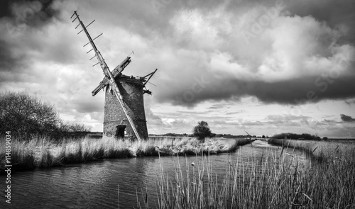 Keuken foto achterwand Molens Brograve mill windpump