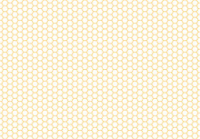 Honey Bee Comb Background Patt...