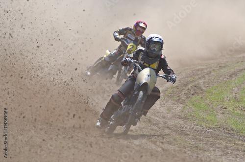 Fotografie, Tablou  Motorradrennen