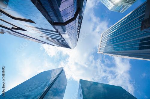 Photo  Building skyscrapers business area