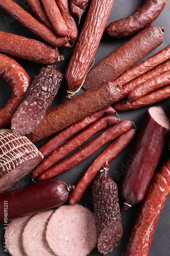 obraz dibond Sausages