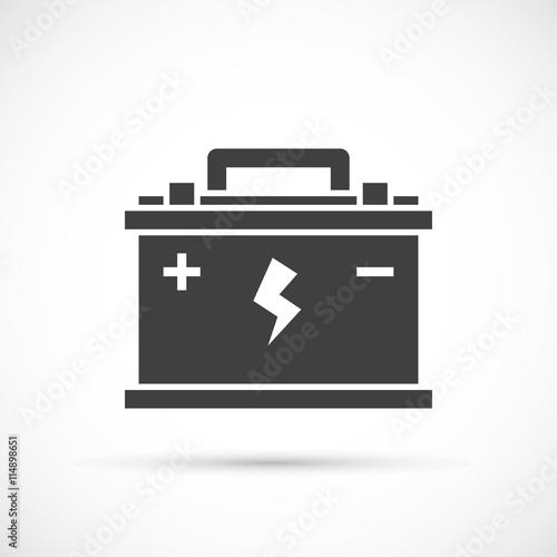 Photo Car battery icon