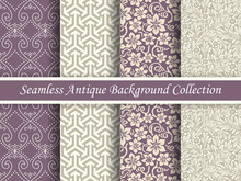 Antique Seamless Background Collection_130